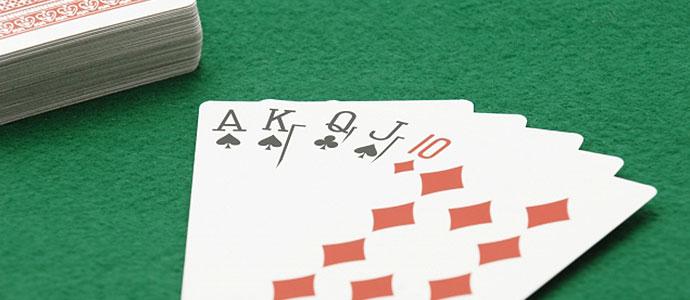 賭け事に使われるトランプ