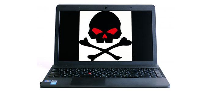 パソコンに見える悪徳予想サイト